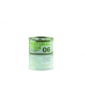 Natural code 06 gatto pollo e verdure 85 gr