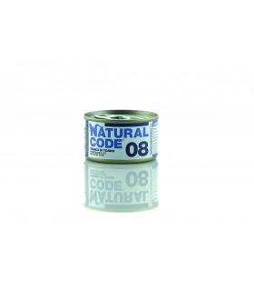 Natural code 08 gatto tranci di tonno 85 gr