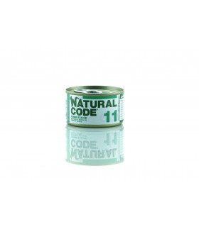 Natural code 11 gatto tonno e aloe 85 gr