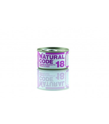 Natural code 18 sgombro e prosciutto 85 gr