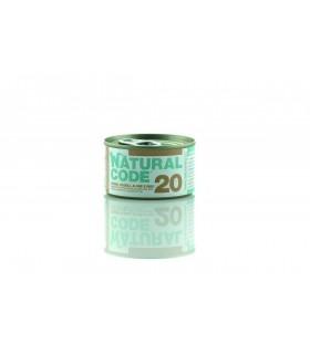 Natural code 20 gatto tonno fagioli alghe e riso 85 gr