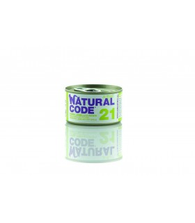 Natural code 21 gatto tonno agnello e patate jelly 85 gr