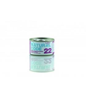 Natural code 22 gatto tonno e fegato di manzo jelly 85 gr