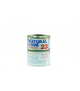 Natural code 23 gatto tonno patate e carote jelly 85 gr