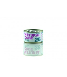 Natural code 25 gatto pollo e sardine jelly 85 gr