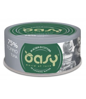 Oasy gatto more love 75% tonno 70 gr