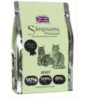 Simpsons Premium gatto adult 90/10 mix pollo, pesce e tacchino 6 kg