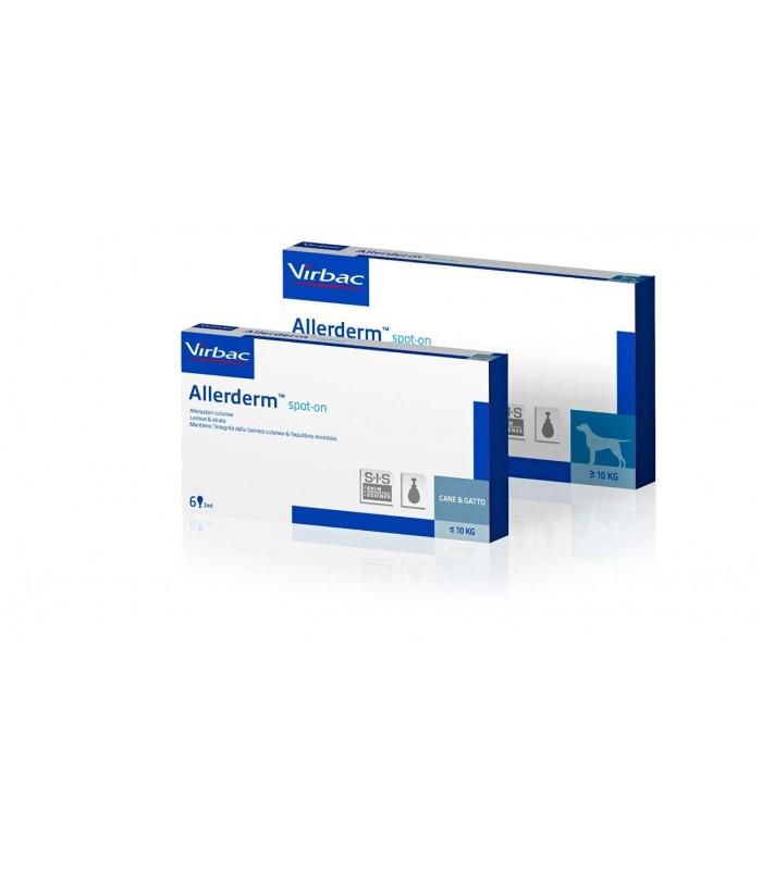 Virbac allerderm spot on 4 ml 6 pipette più 10 kg