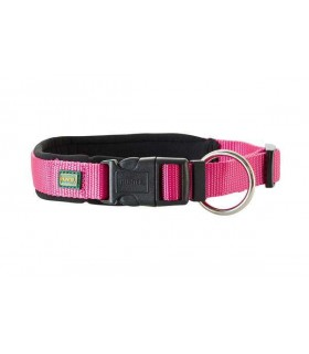 Hunter collare neoprene plus taglia small rosa