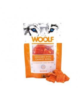 Woolf quadratini di pollo e carote 100 gr