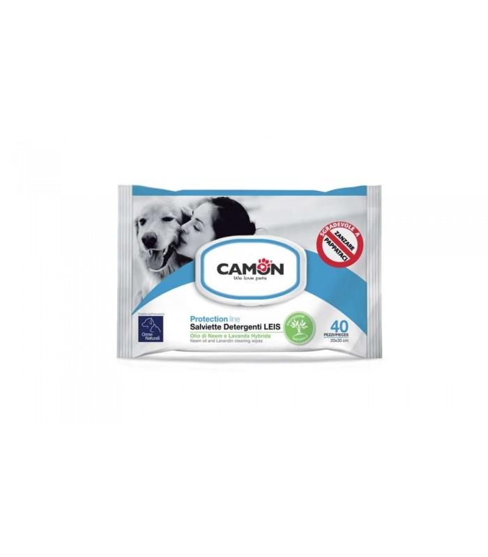 Camon protection line salviette detergenti leis 20 salviette 30 cm g907