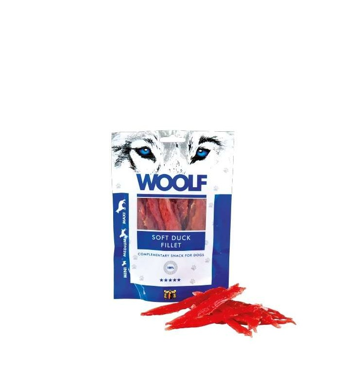 Woolf filetto di anatra essiccata 100 gr