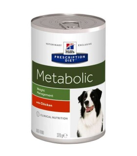 Hill's Prescription Diet cane Metabolic con Pollo 370 gr