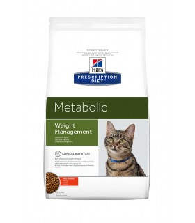 Hill's Prescription Diet gatto Metabolic con Pollo 4 kg
