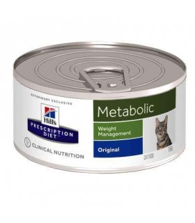 Hill's Prescription Diet gatto Metabolic con maiale156 gr