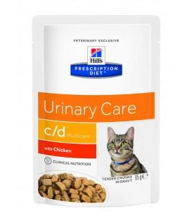 Hill's c/d feline multicare pollo 12 buste 85 gr