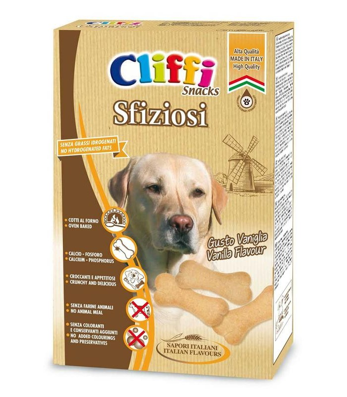 Cliffi sfiziosi snacks 400 gr