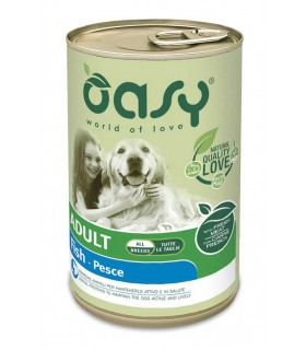 Oasy cane adult lifestage pesce pate umido 400 gr