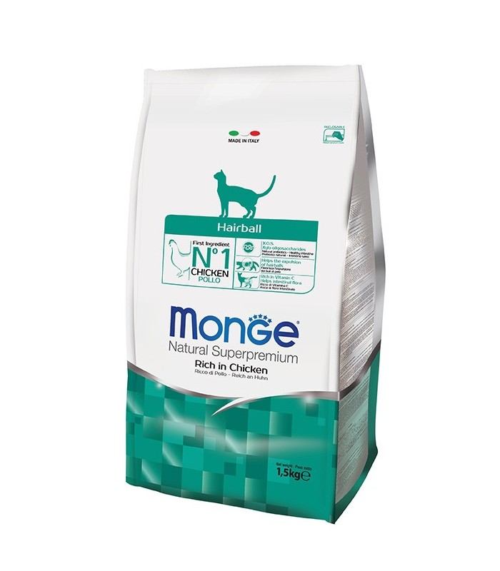 Monge gatto hairball 1,5 kg