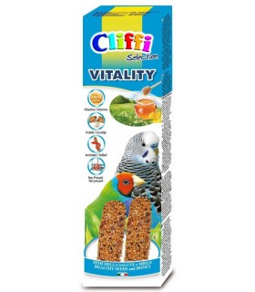 """Cliffi sticks pappagallini esotici con semi della salute """"vitality"""" 60 gr"""