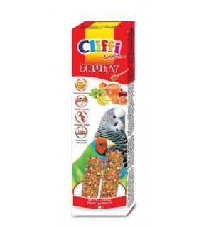 """Cliffi sticks pappagallini esotici con frutta e miele """"fruity"""" 60 gr"""