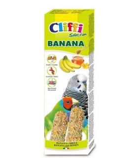 "Cliffi sticks pappagallini esotici con banana e miele ""banana"" 60 gr"