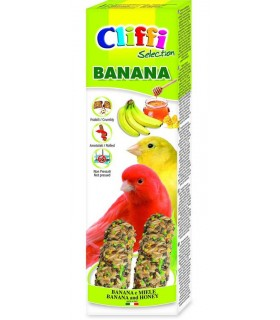 Cliffi sticks canarini banana e miele 60 gr