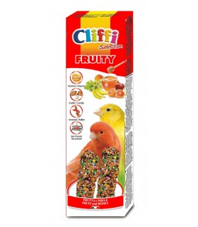 "Cliffi sticks canarini con frutta e miele ""fruity"" 60 gr"