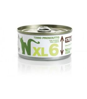 Natural code xl 6 gatto tonno e prosciutto 170 gr