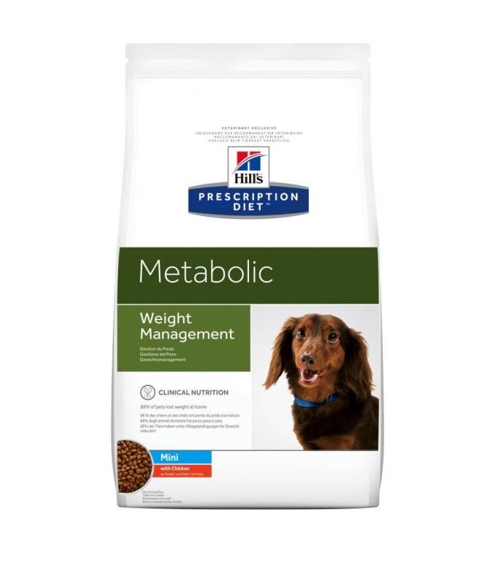 Hill's Prescription Diet cane Mini Metabolic con pollo 6 kg