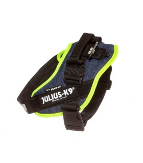 Julius k9 pettorina Idc Power Harnesses DENIM NEON Tg. 0