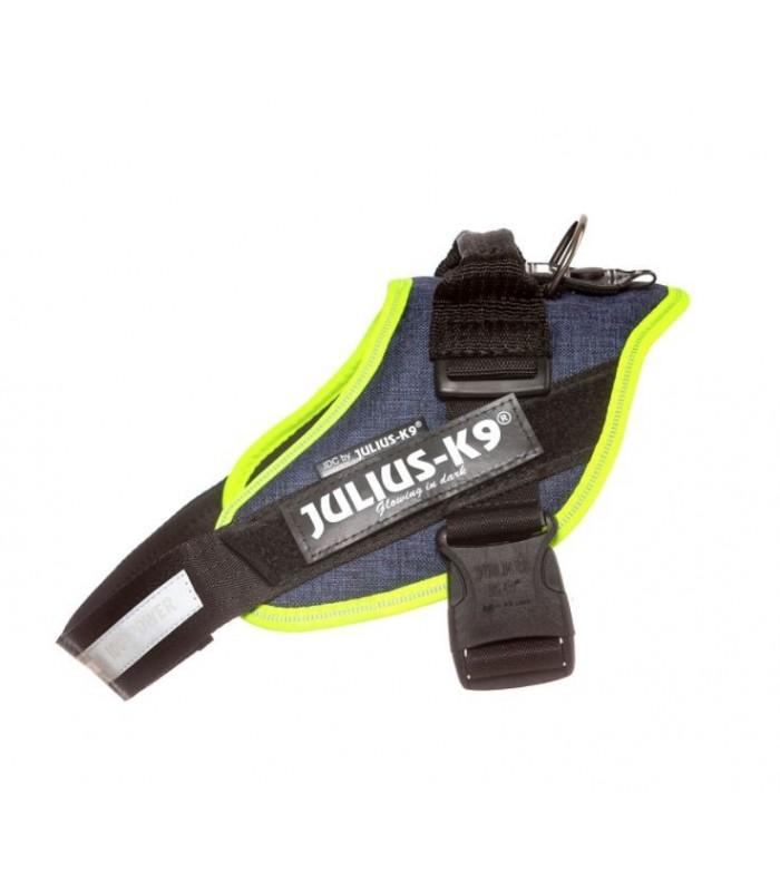Julius k9 pettorina Idc Power Harnesses DENIM NEON Tg. 0