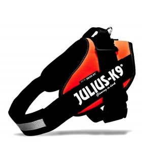 Julius k9 pettorina IDC Power Harnesses UV Orange Tg. 3