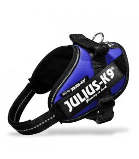 Julius k9 pettorina IDC Power Harnesses BLUE Tg. MINI-MINI