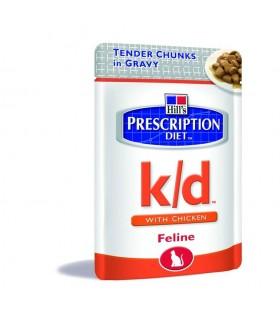 HILL'S K/D FELINE POLLO 12 BS X 85 GR