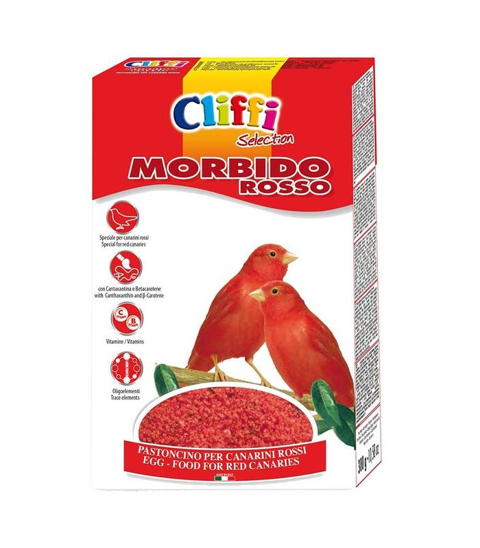 Cliffi morbido rosso 1 kg