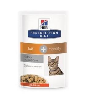 Hill's k/d feline + mobility 12 buste 85 gr