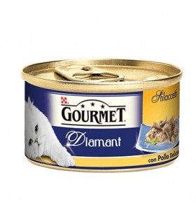 Gourmet diamant sfilaccetti con pollo delicato 85 gr