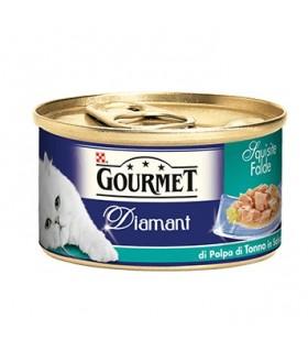 Gourmet diamant falde di polpa tonno in salsa 85 gr