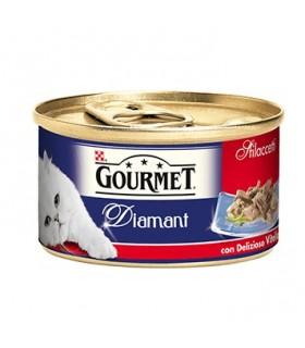 Gourmet diamant sfilaccetti con vitello delizioso 85 gr