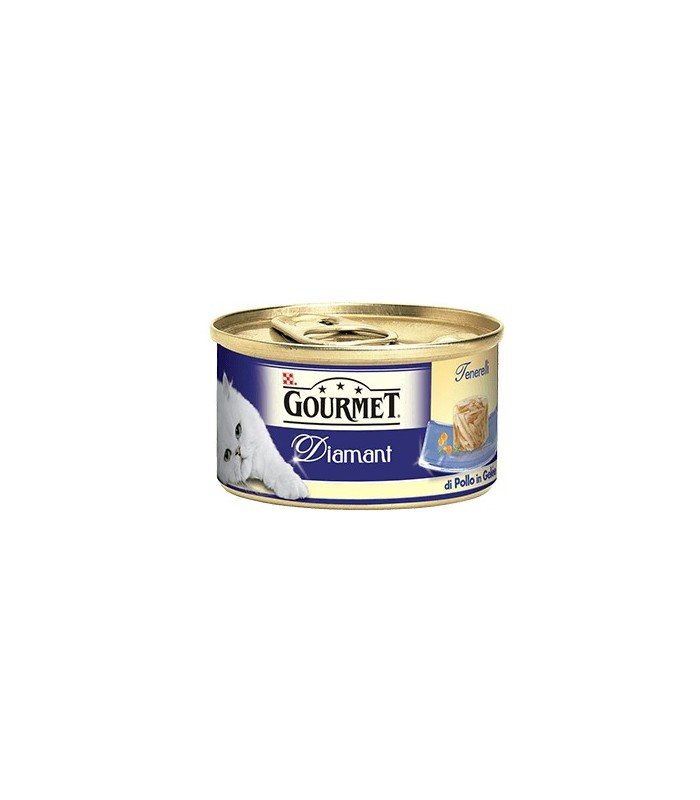 Gourmet diamant tenerelli di pollo in gelee 85 gr