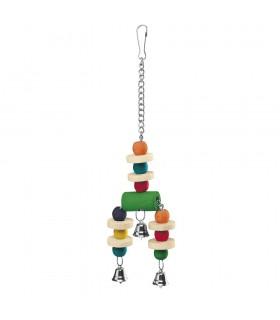 Ferplast PA 4092 gioco pendente curvo colorato per pappagalli