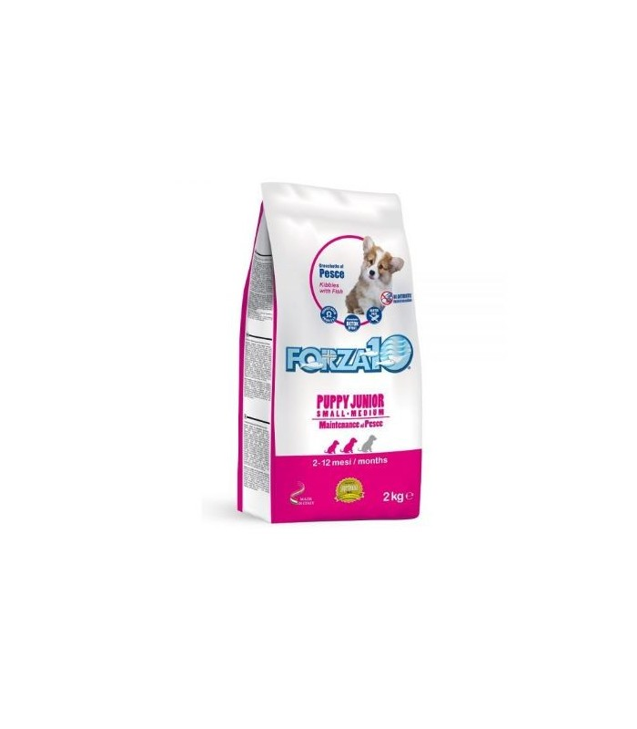 Forza 10 cane puppy junior small e medium mantenimento pesce 2 kg