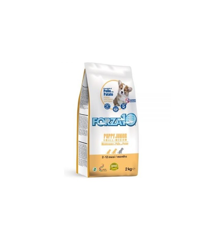 Forza 10 cane puppy junior small e medium mantenimento pollo e patate 2 kg