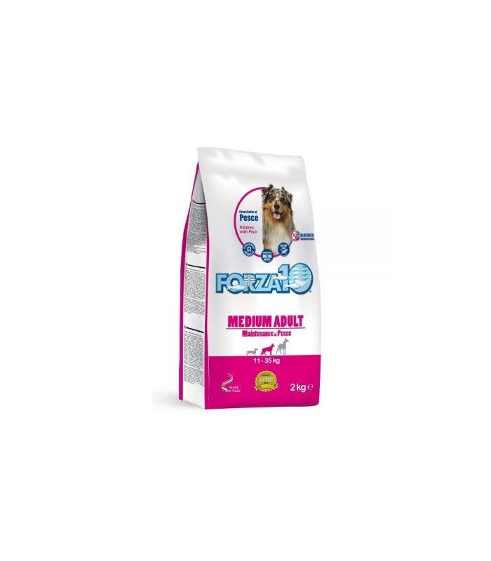 Forza 10 cane medium adult mantenimento pesce 2 kg