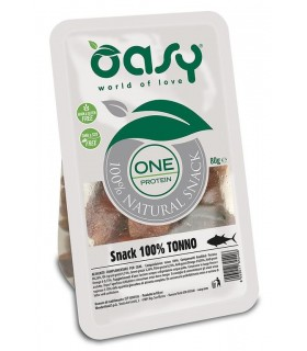 Oasy snack cane oneprotein tonno 80 gr