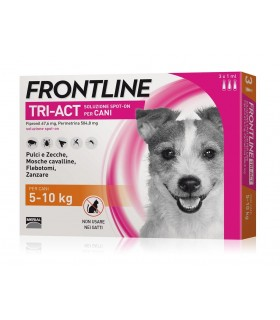 Frontline tri-act 3 pipette 1 ml 5-10 kg