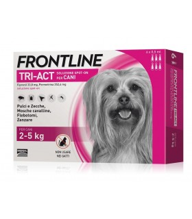 Frontline tri-act 6 pipette 0,5 ml 2-5 kg