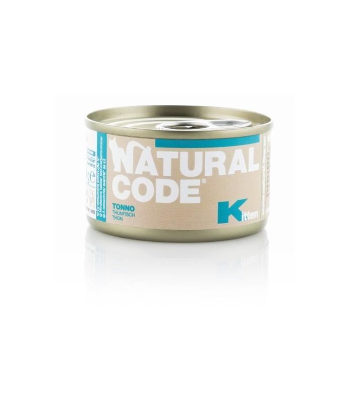 Natural code gatto kitten tonno 85 gr