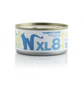 Natural code xl 8 gatto tonno e olive 170 gr